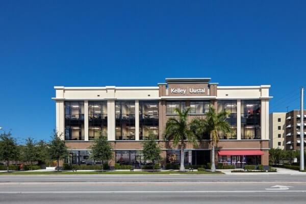L Cox Flooring - Flooring Contractors - 500 North Federal Project - front of building view