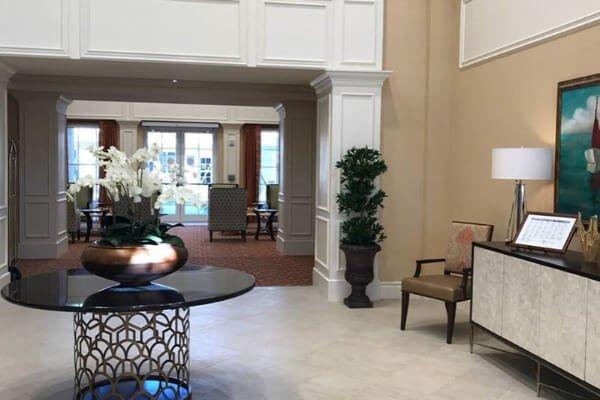 Commercial Flooring - Cobblestone Symphony Boca Raton - Assisted Living