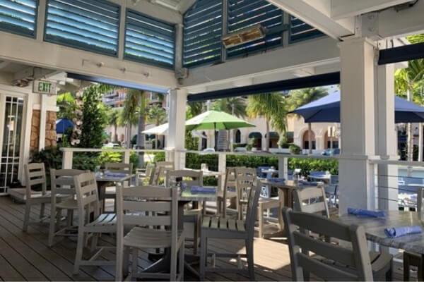 Commercial Flooring Project for Restaurant in Boca Raton - Porcelain Tile and Vinyl Tile