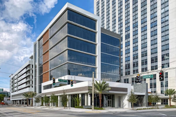 Commercial Flooring Project in Fort Lauderdale - Street View - L Cox Flooring