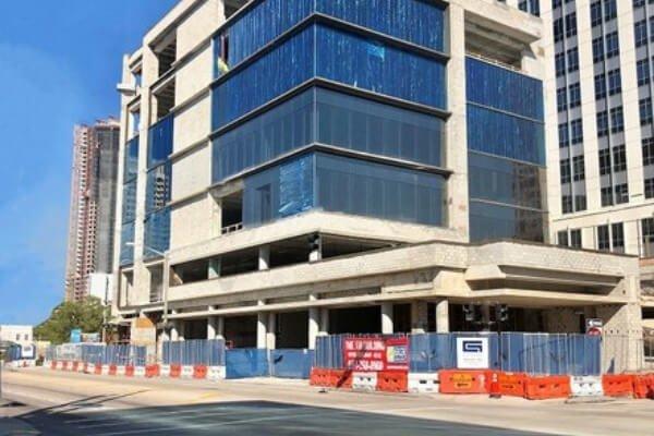 Commercial Flooring Project in Fort Lauderdale - Work In Progress - L Cox Flooring