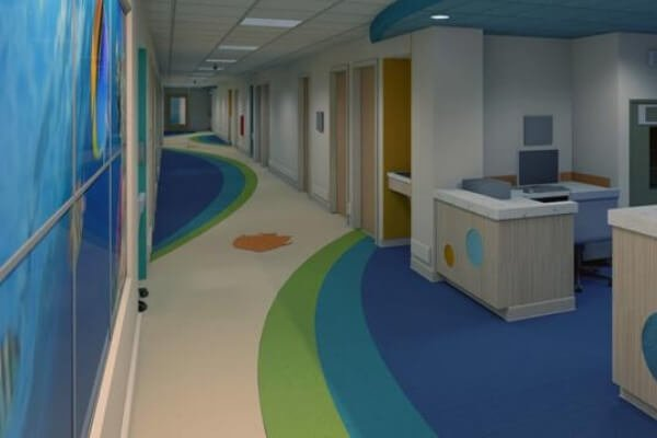 Hospital Facility - Commercial Flooring - Broward Florida