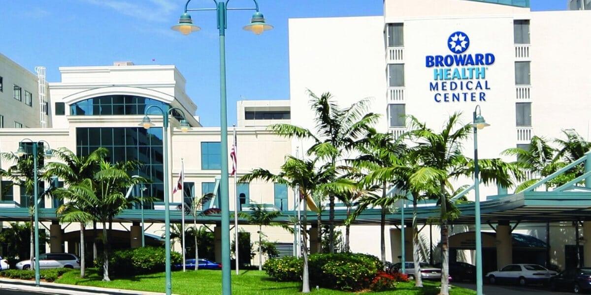 Hospital Facility - Commercial Flooring - Broward Health Medical Center - L Cox Flooring