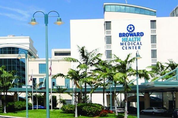 Hospital Facility - Commercial Flooring - Broward Health Medical Center