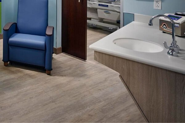 Hospital Facility - Commercial Flooring - Florida