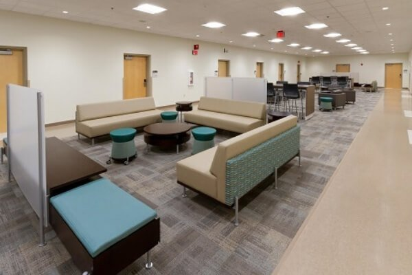 Medical Facility - Flooring Installation - Carpet Tile