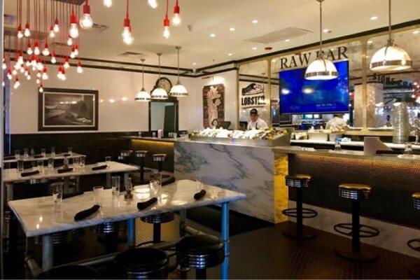 Restaurant Commercial Flooring Installation - Flooring Contractor L Cox Flooring