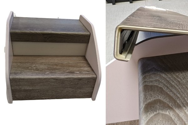 Hardwood Flooring - Stair Edging - L Cox Flooring