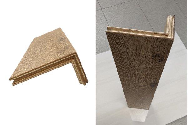 Hardwood Flooring - Stair Nosing - High Quality Craftmanship