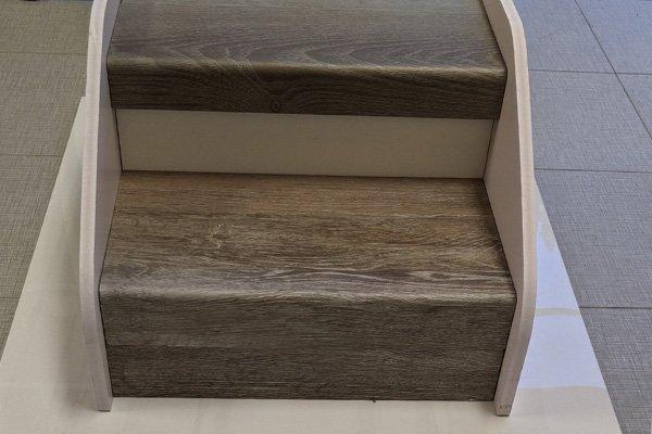Vinyl Flooring - Stair Edging - Flooring Contractor Florida