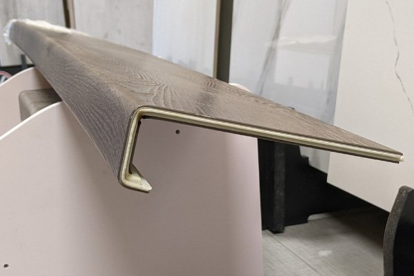 Vinyl Flooring - Stair Edging - High Quality Craftmanship