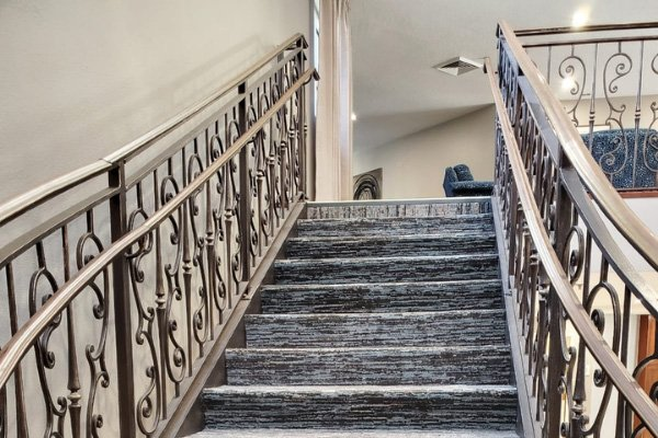 Carpet Staircase - L Cox Flooring Commercial Jobs