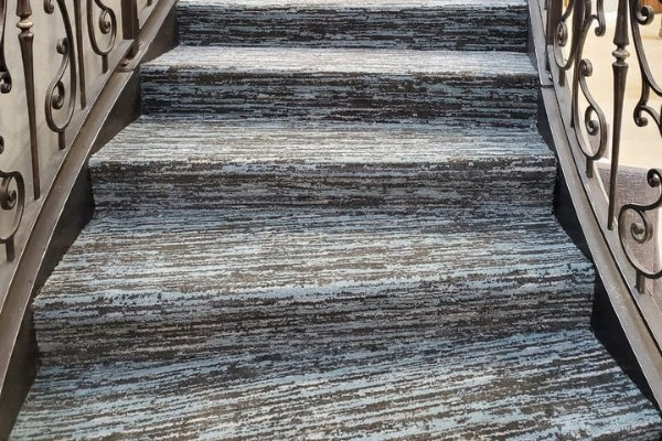 Carpet Stairs - L Cox Flooring Commercial Jobs