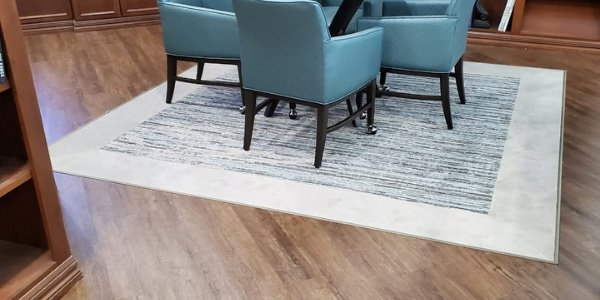 Senior Living Facility - Flooring - Carpet - LVT - L Cox Flooring
